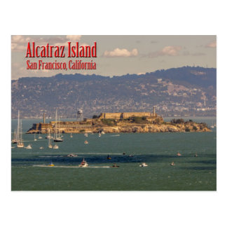 Alcatraz Island San Francisco, California Postcard