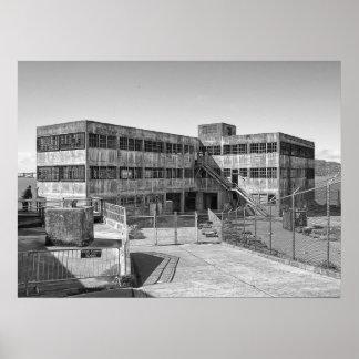 ALCATRAZ MODEL INDUSTRIES BUILDING POSTER