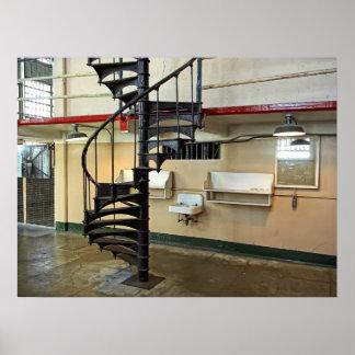 Alcatraz Penitentiary Barber Shop Poster