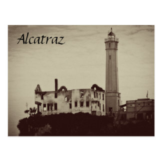 Alcatraz Postcards