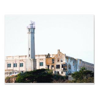Alcatraz Prison 11 Cm X 14 Cm Invitation Card