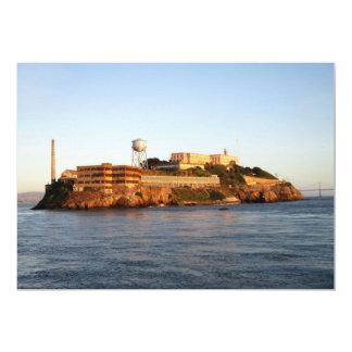 Alcatraz Prison 13 Cm X 18 Cm Invitation Card