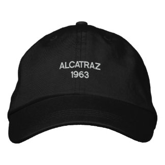 Alcatraz Prison TV Show 1963 Cap Embroidered Hat
