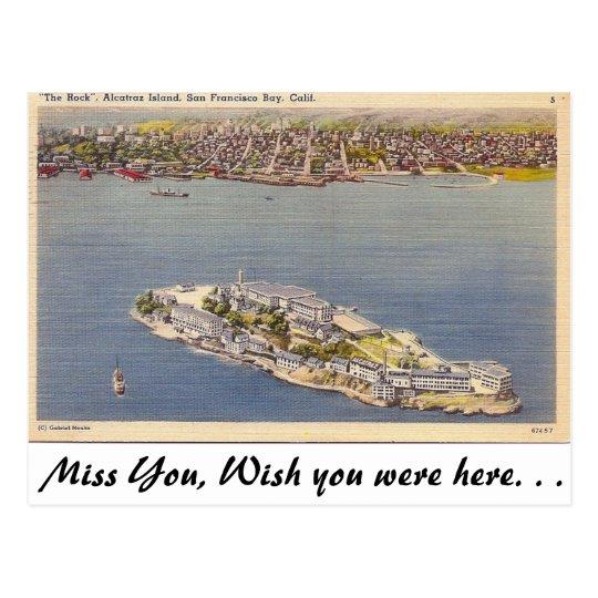 Alcatraz, San Francisco, Calif. Postcard
