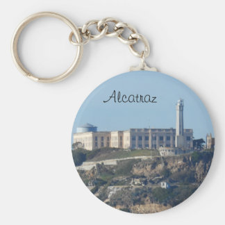 Alcatraz- San Francisco Basic Round Button Key Ring