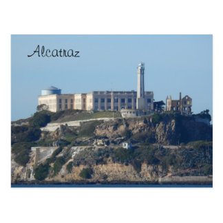 Alcatraz- San Francisco Postcard
