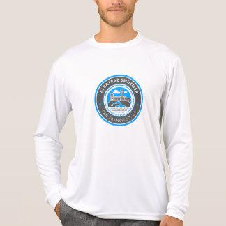 Alcatraz Swimmer men's Sport-Tek long sleeve T-Shirt