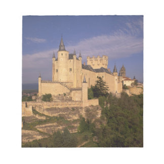 Alcazar and Cathedral, Segovia, Castile Leon, Notepad