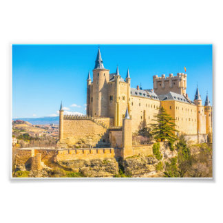 Alcázar of Segovia Photo Print