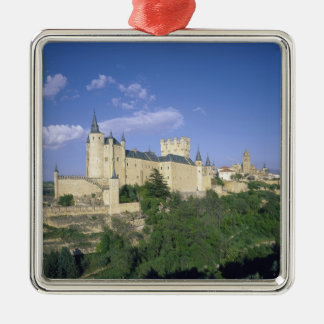 Alcazar, Segovia, Castile Leon, Spain 2 Christmas Ornament