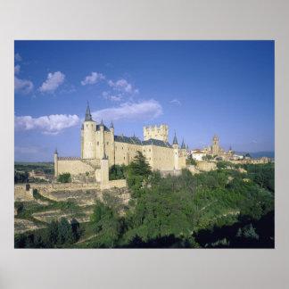 Alcazar, Segovia, Castile Leon, Spain 2 Poster