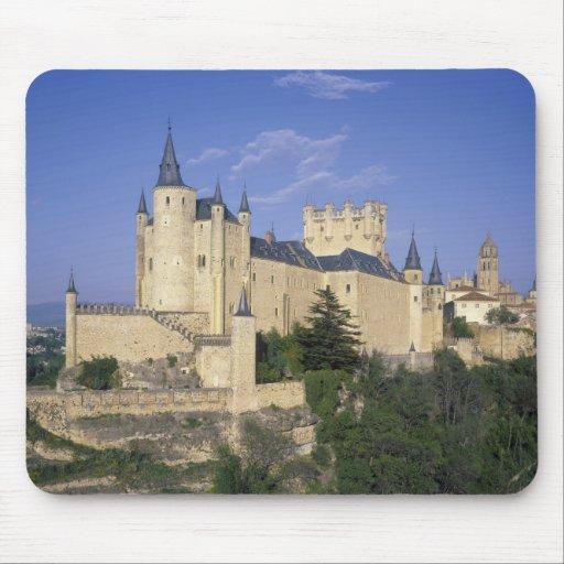 Alcazar, Segovia, Castile Leon, Spain Mousepads