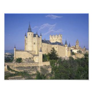 Alcazar, Segovia, Castile Leon, Spain Photo Art