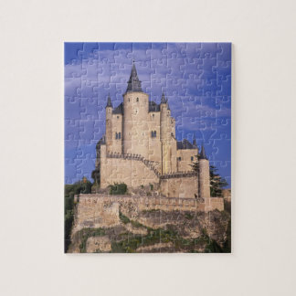 Alcazar, Segovia, Castile Leon, Spain, Unesco Jigsaw Puzzle