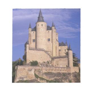 Alcazar, Segovia, Castile Leon, Spain, Unesco Notepads