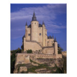 Alcazar, Segovia, Castile Leon, Spain, Unesco Poster