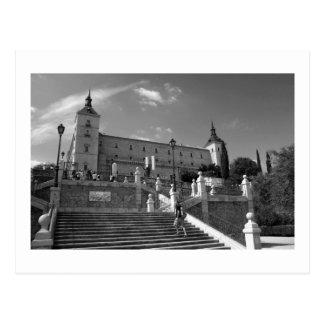 Alcazar Toledo Postcard
