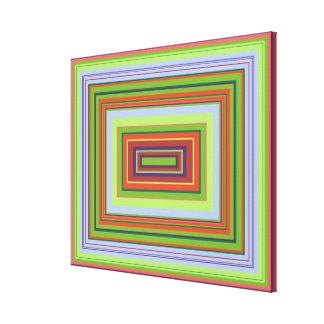 Alchemical Colour Pattern, medium Canvas Print