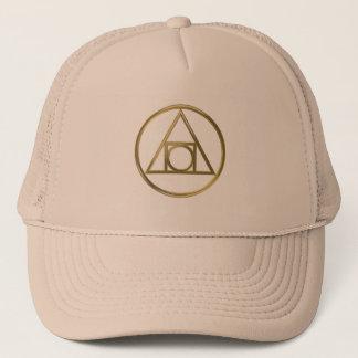 Alchemical symbol cap