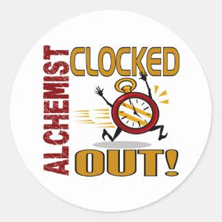 Alchemist Clocked Out Sticker