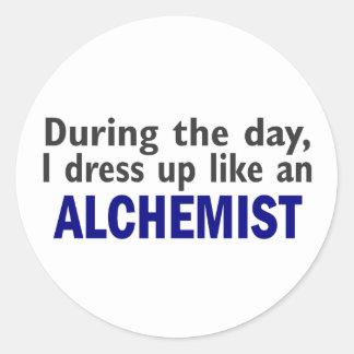 ALCHEMIST During The Day Round Sticker
