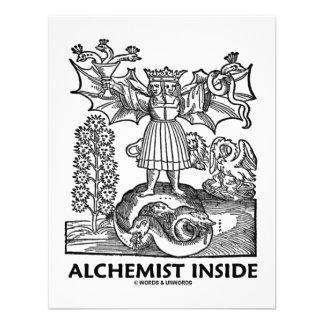 Alchemist Inside Medieval Alchemy Personalized Announcement