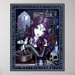 Alchemist Magic Workshop Fantasy Poster