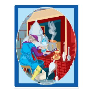 alchemist postcard