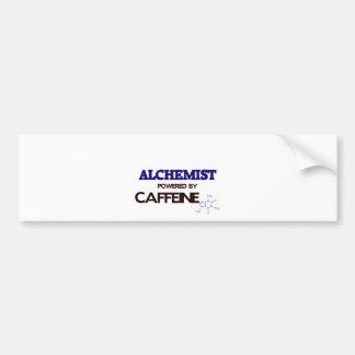 Alchemist Powered by caffeine Car Bumper Sticker
