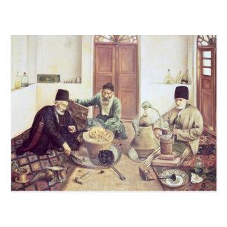 Alchemists, 1893 postcard
