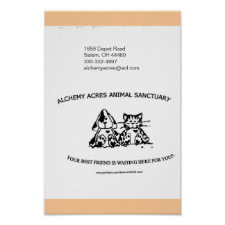 Alchemy Acres Animal Sanctuary Inc. Poster