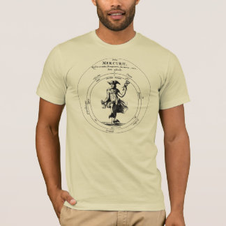 Alchemy and Mercurius. Mercury w/ Caduceus T-Shirt