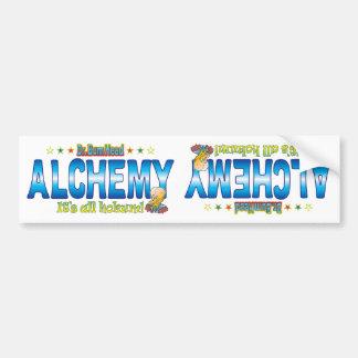 Alchemy Dr. B Head Bumper Sticker