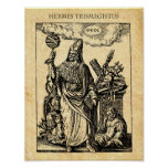 ALCHEMY HERMES TRISMEGISTUS POSTER
