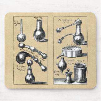 Alchemy Laboratory Beakers and Tools Mouse Mat