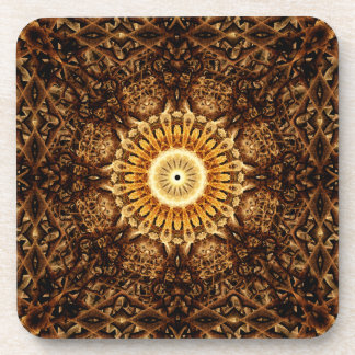 Alchemy of the Mind Mandala Drink Coasters