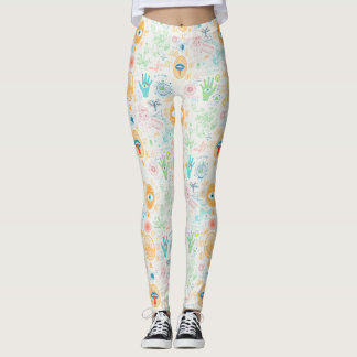 Alchemy Pattern Leggings