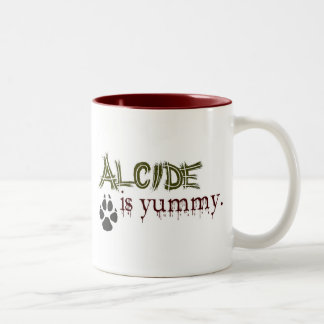 Alcide is Yummy. Two-Tone Mug