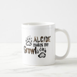 Alcide makes me growl coffee mug