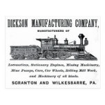 Alco - Dickson Manufacturing Company 1856 Postcards