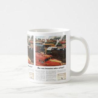 Alco Locomotives Make A Railroad Coffee Mug