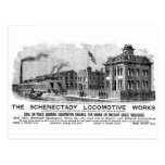 Alco-Schenectady Locomotive Works, 1870 Post Card