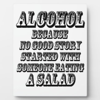 ALCOHOL - Because Plaque