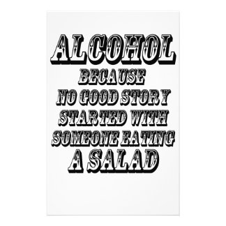 ALCOHOL - Because Stationery