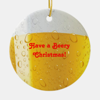 Alcohol / beery  Christmas Ornament