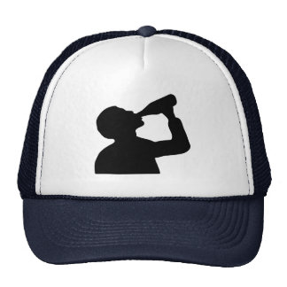 Alcohol drinking hats