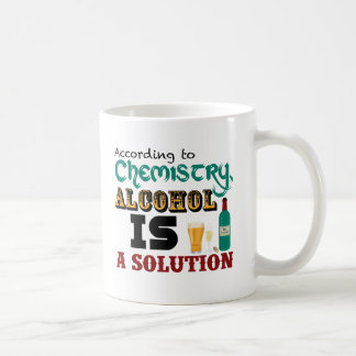 Alcohol is a Solution Coffee Mug