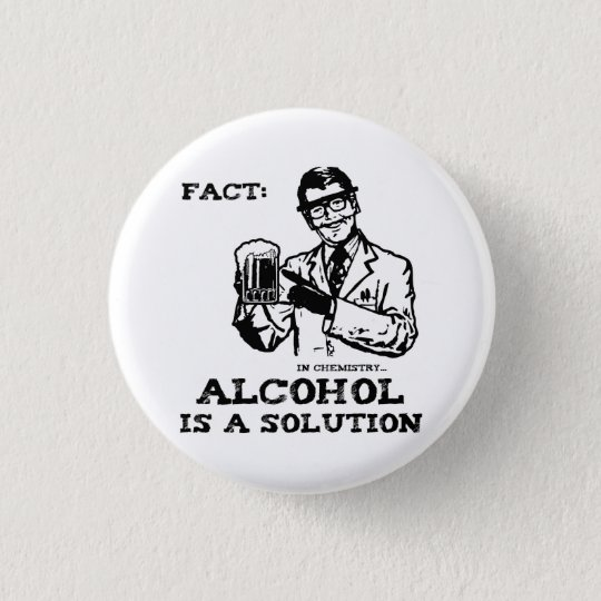 Alcohol is a Solution in Chemistry Retro 3