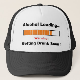 Alcohol Loading Full Trucker Hat