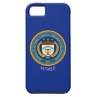 Alcohol Tobacco Firearms Retired Vibe iPhone Case iPhone 5 Cover